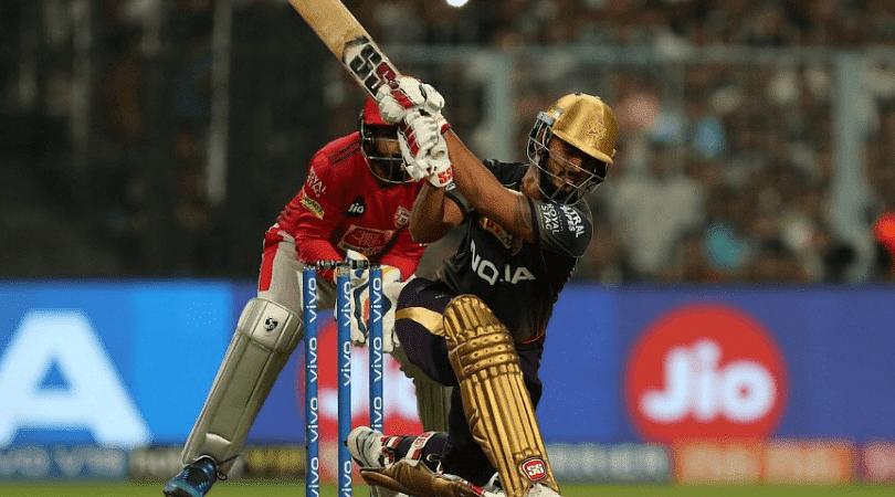 Twitter reactions on Nitish Rana's 7th IPL half-century