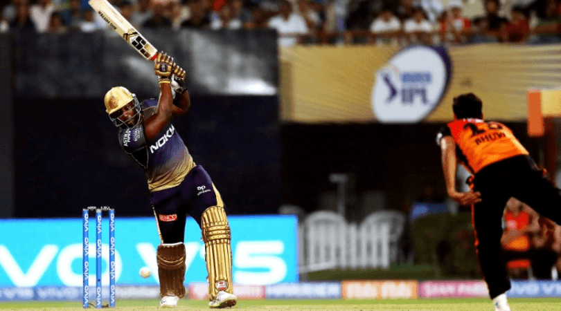 Andre Russell and Shubman Gill partnership