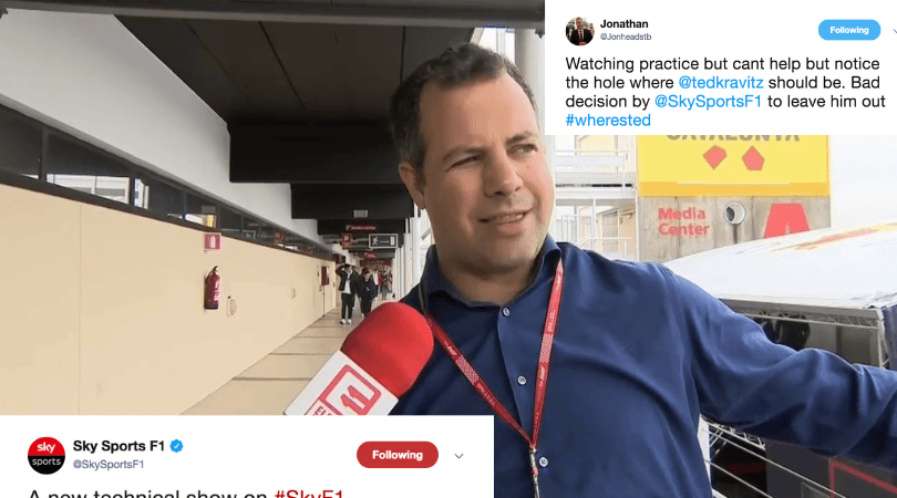 Ted Kravitz: Twitter goes crazy as Sky Sports reporter was absent from F1 qualifying