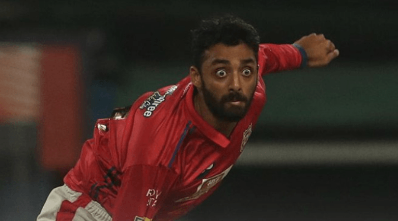 Varun Chakravarthy concedes 25 runs in first over
