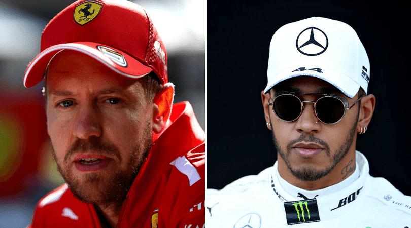 Sebastian Vettel calls out Lewis Hamilton for letting Bottas pull clear in Australia