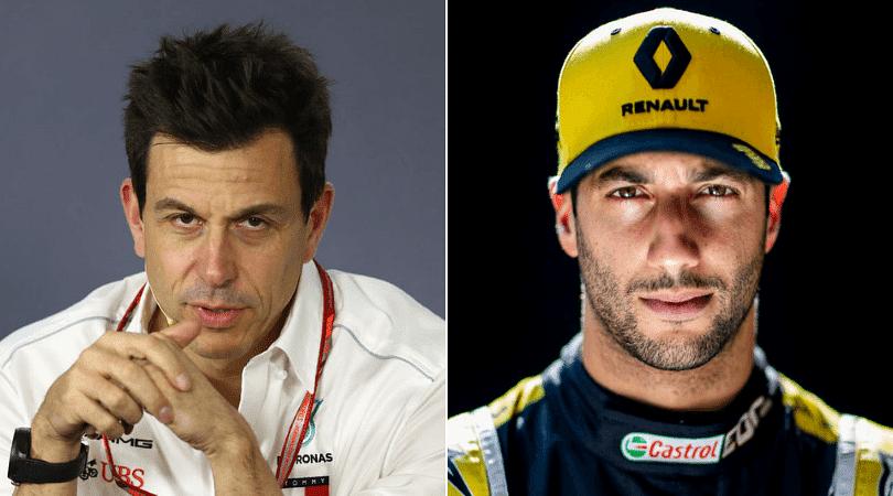 Toto Wolff confirms Mercedes interest in Daniel Ricciardo