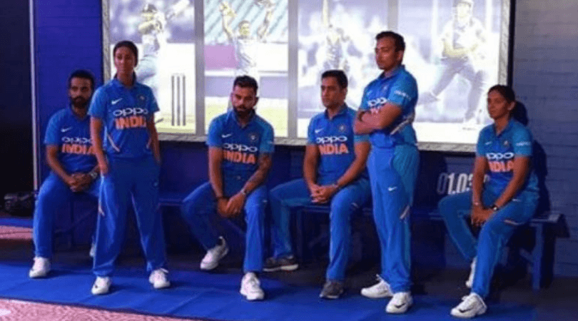 Virat Kohli and MS Dhoni don Nike's new jersey: Nike has launched a new ODI jersey for the Indian cricket team.