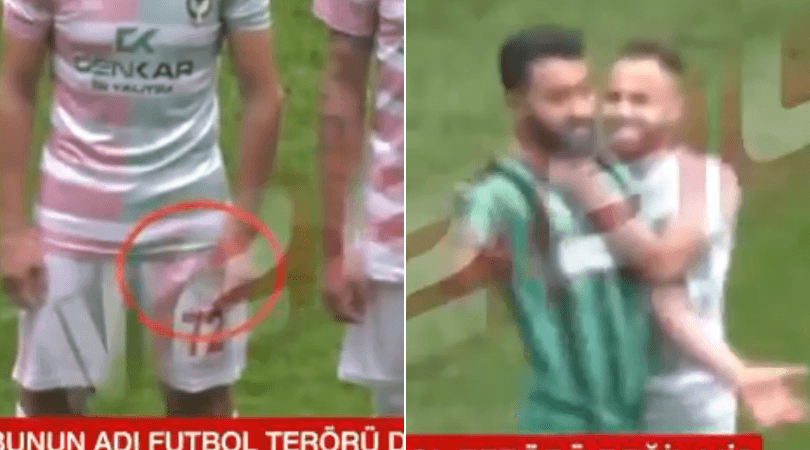 footballer razor blade