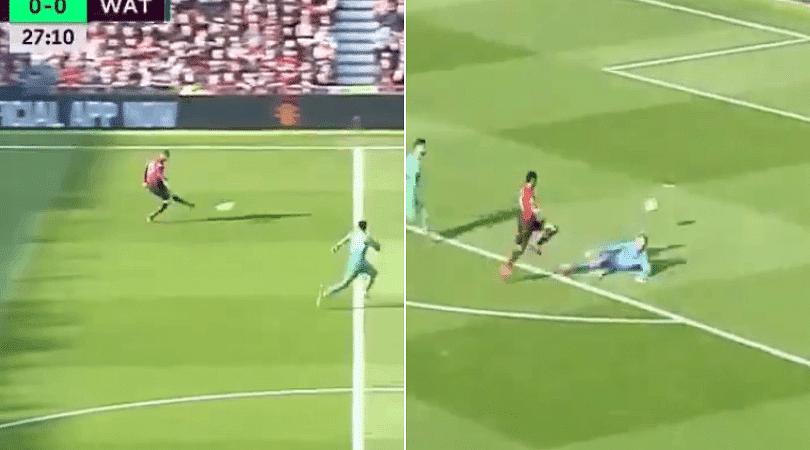 Marcus Rashford Goal Man Utd Striker Scores Brilliantly Vs Watford From Shaw Assist The Sportsrush