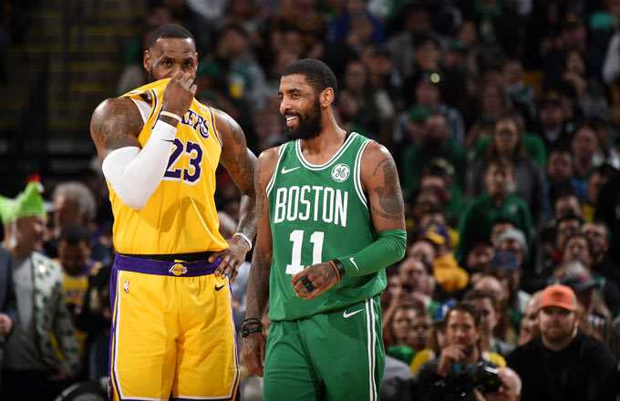 LeBron James tweets for Kyrie Irving, fuels Kyrie to Lakers rumors
