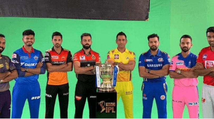 List of all sponsors for IPL 2019 teams