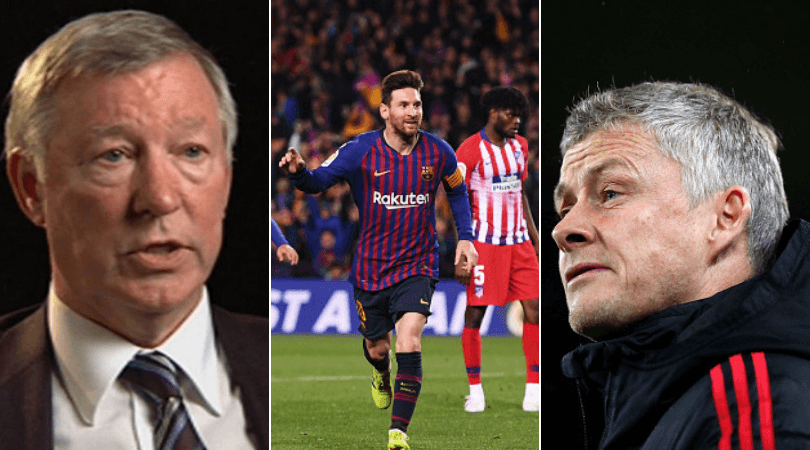 Sir alex ferguson on how to stop Lionel messi