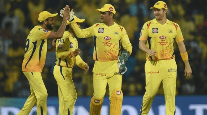 Chennai Super Kings Playing 11 today