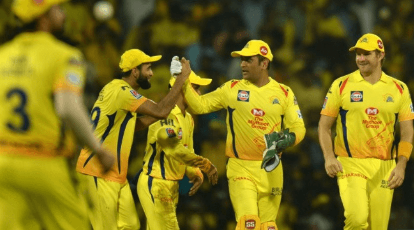 CSK Predicted Playing 11 for today's match vs KXIP