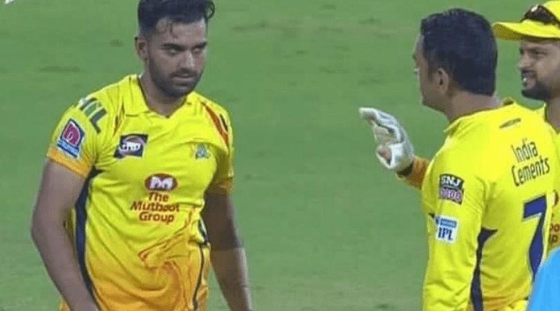 Deepak Chahar unveils MS Dhoni's reaction