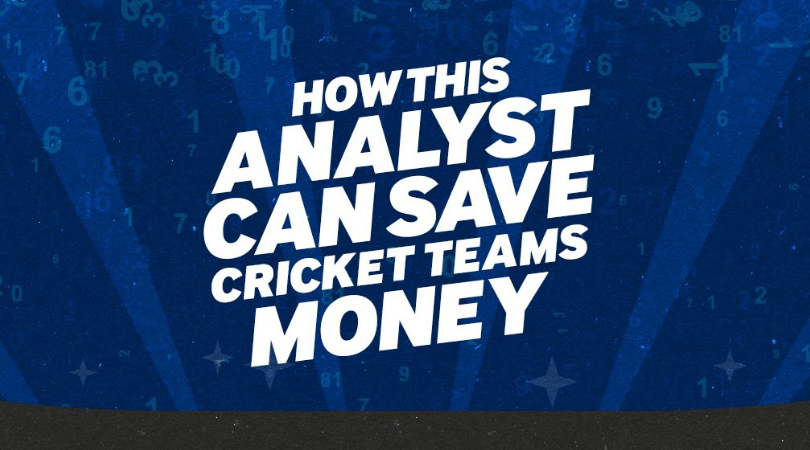This gambler-turned-analyst can save cricket teams money