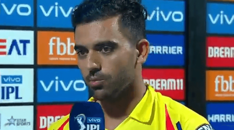 Deepak Chahar admits learning from MS Dhoni