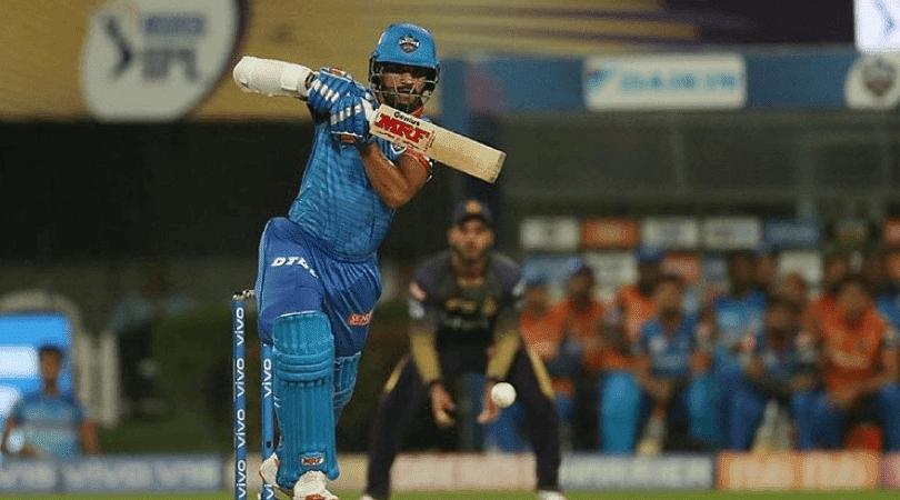 Shikhar Dhawan misses century vs KKR