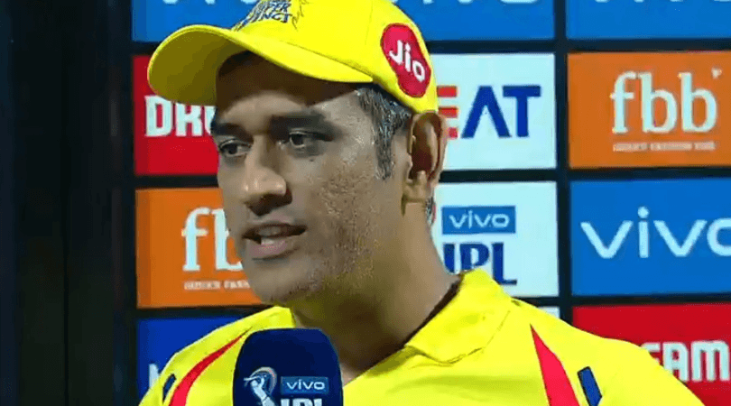 Dhoni highlights special connection with CSK and Chepauk crowd
