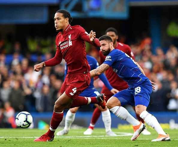 Virgil van Dijk: Chelsea forward issues warning to Van Dijk ahead of Liverpool clash