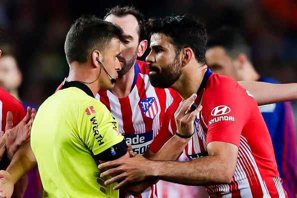 Diego Costa red card: What Diego Costa did in dressing room after Barcelona red card
