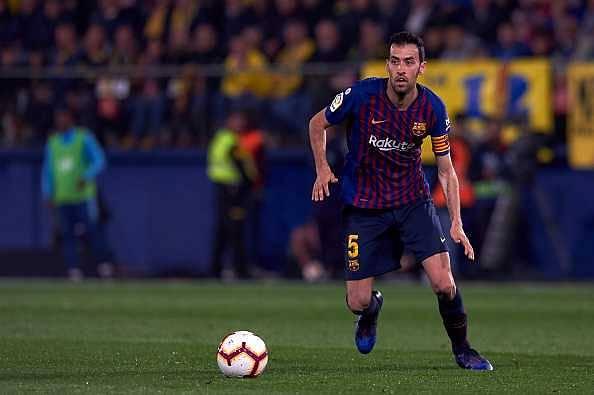 Manchester United vs Barcelona: Sergio Busquets warns teammates of United's 2 big qualities