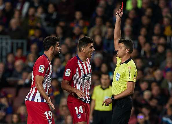 Why was Diego Costa sent off? Twitter decodes NSFW rant | Barcelona vs Atletico