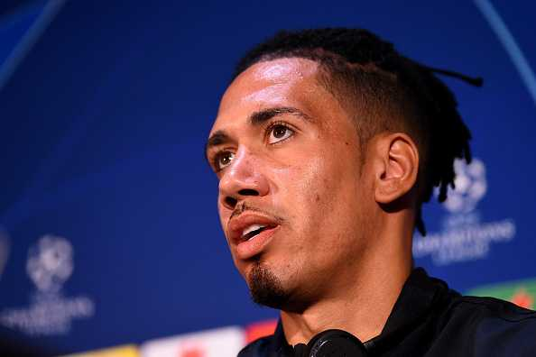 Lionel Messi: Chris Smalling challenges Barcelona star Lionel Messi ahead of CL clash