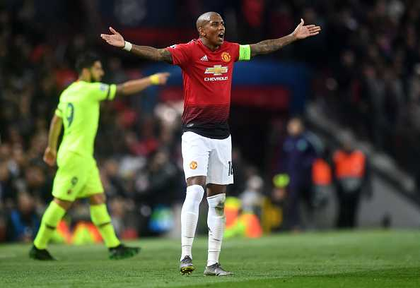 Man Utd vs Barcelona: Twitter destroys Ashley Young after horrible performance in CL clash