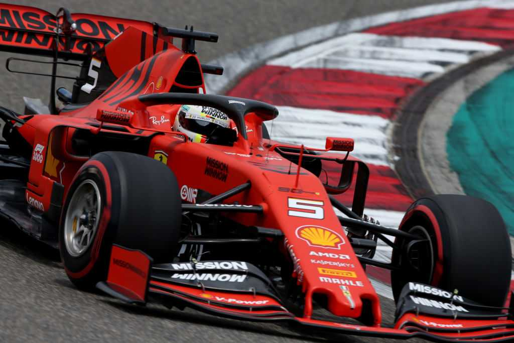 Sebastian Vettel furious after missing out on pole at Chinese GP