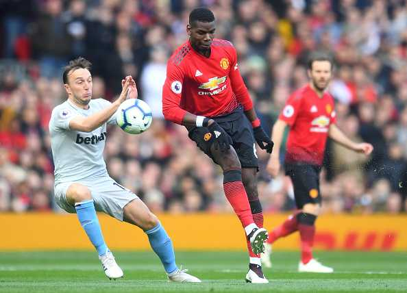 Paul Pogba goal vs West Ham: Pogba coolly scores penalty and celebrates in style