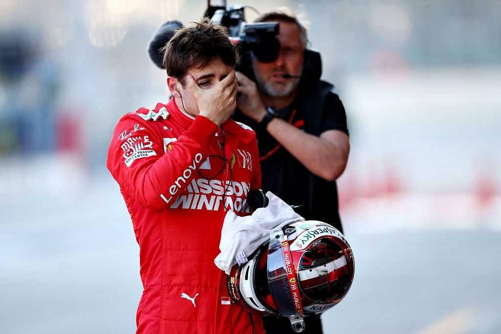 Charles Leclerc comments on Azerbaijan GP Qualifying crash