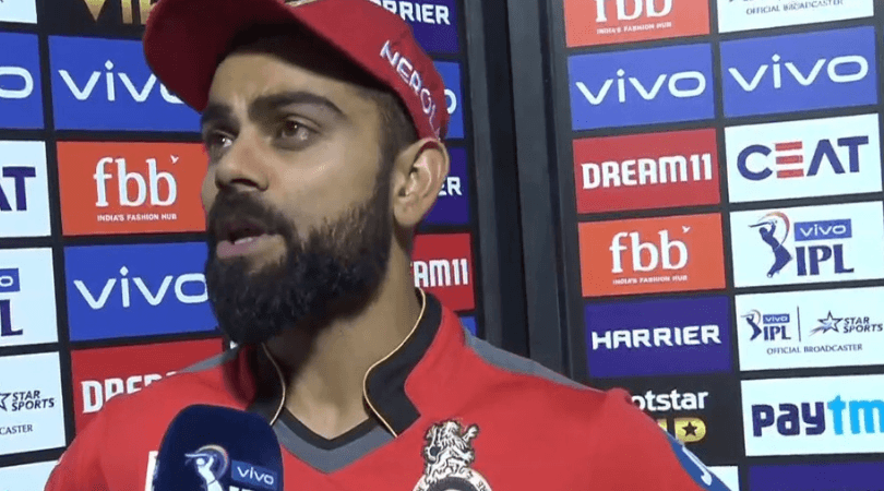 RCB captain hints at changes