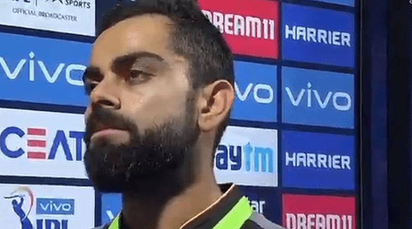 Virat Kohli unveils reason behind slow innings
