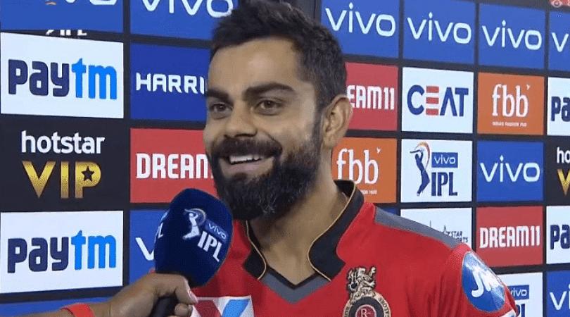 Virat Kohli on RCB's first win