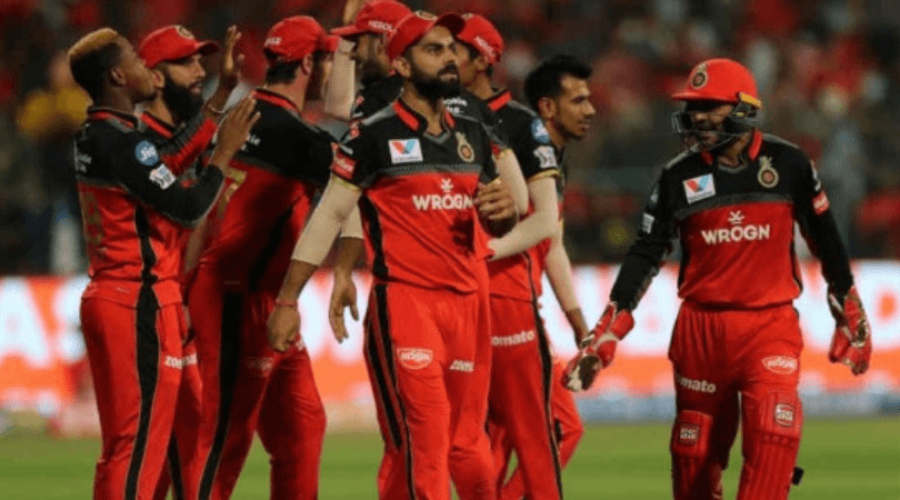 RCB Predicted Playing 11 for today's match vs DC