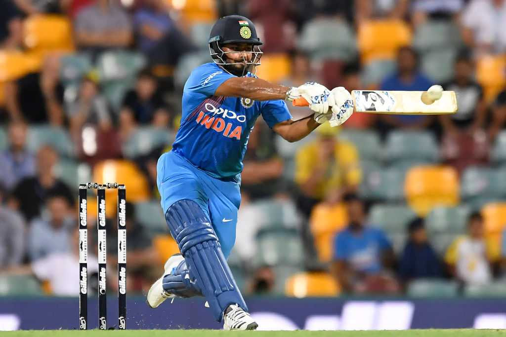Rishabh Pant out of Indian World Cup team