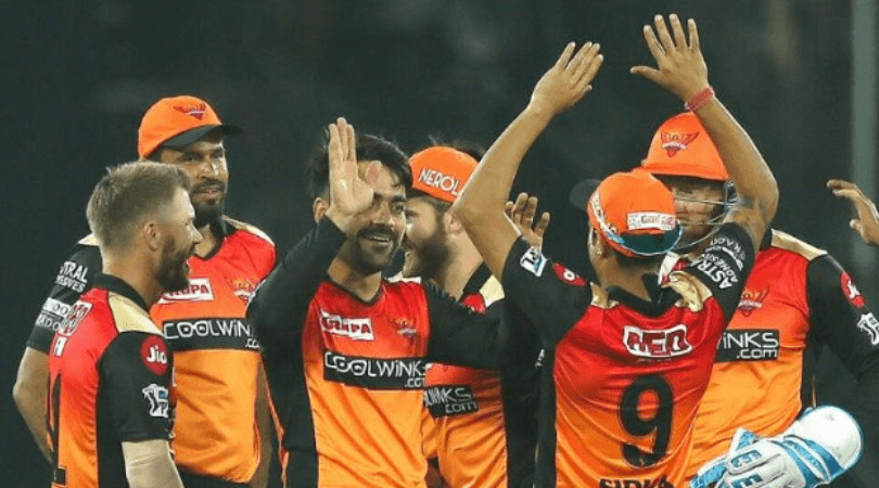 SRH Predicted Playing 11 vs DC