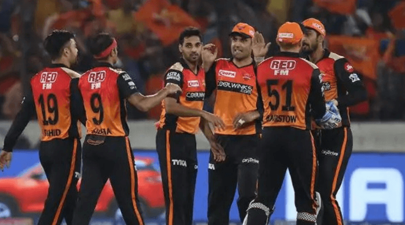 SRH Predicted Playing 11 for today's match vs KXIP