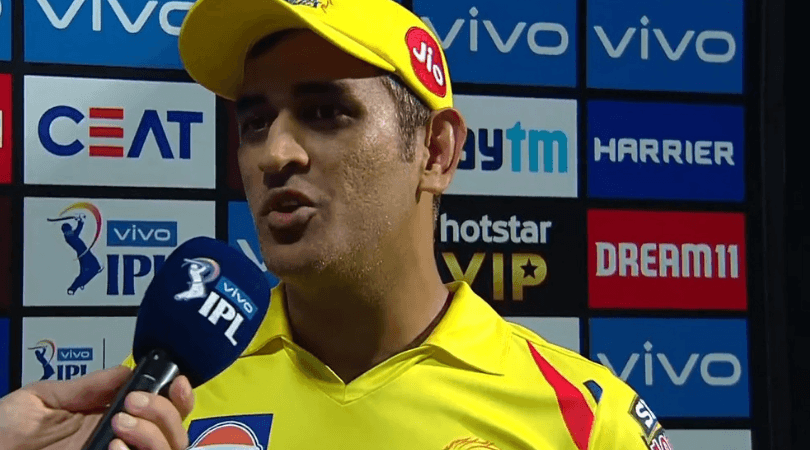 CSK captain criticizes bowlers and fielders
