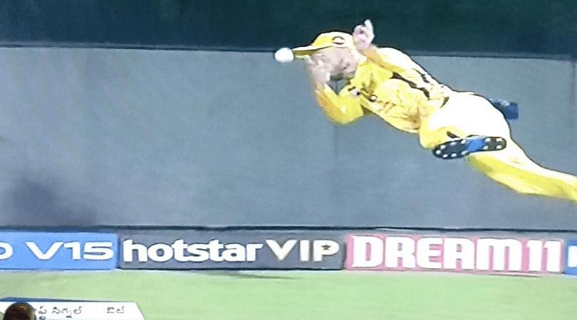 Faf Du Plessis catch vs RCB