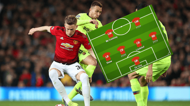 Manchester United team news: Man Utd predicted line up vs Barcelona