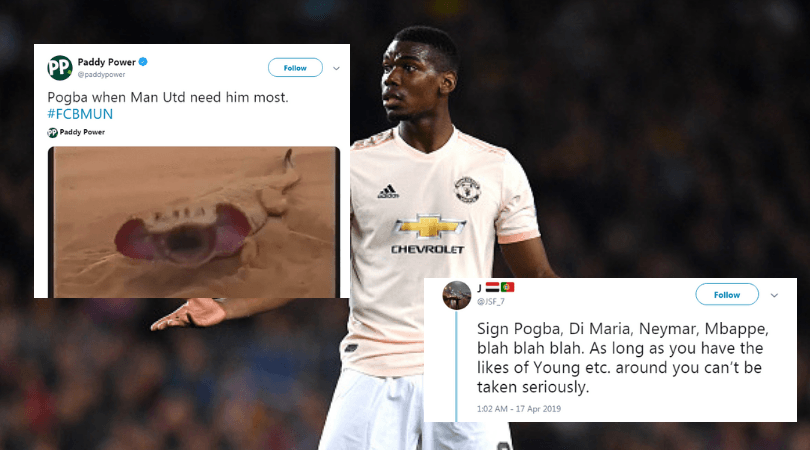 Man Utd Memes Twitter Reacts As Manchester United Knocked Out By Barcelona In Cl The Sportsrush