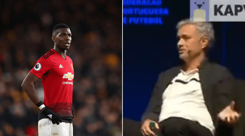 Former Man Utd boss Jose Mourinho takes huge dig at 'His Excellency' Paul Pogba