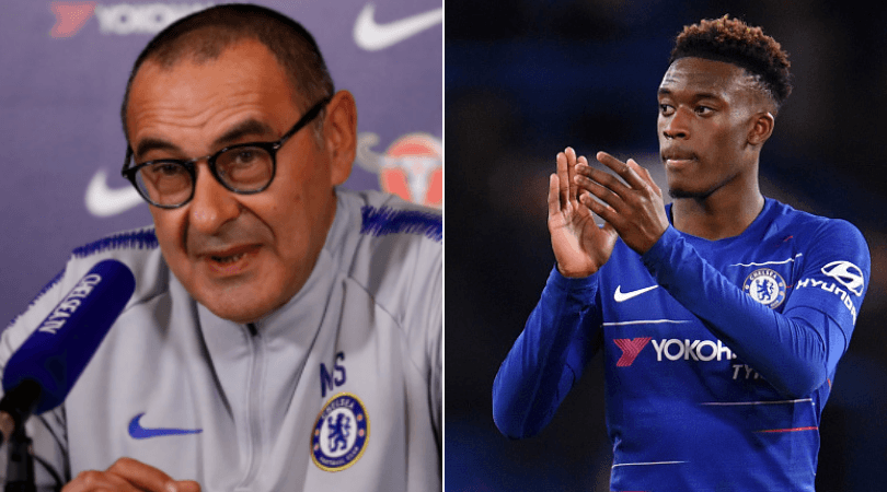 Maurizio Sarri: Chelsea manager gives warning to Callum Hudson-Odoi after 3-0 win