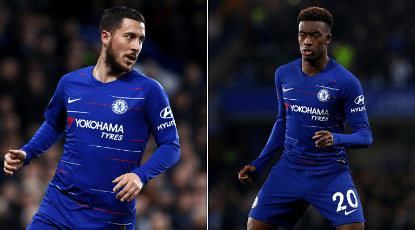 """Callum Hudson-Odoi: Eden Hazard says he was """"better at 18""""; issues advice to youngster"""