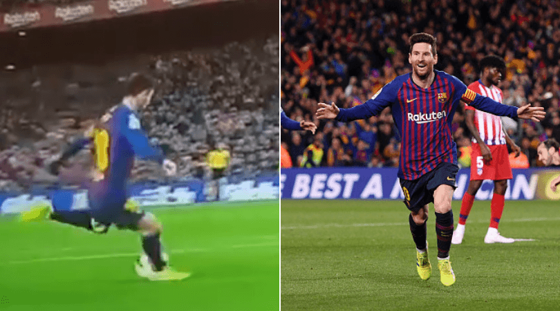 Lionel Messi goal vs Atletico: Barca star scores incredible goal to double the lead