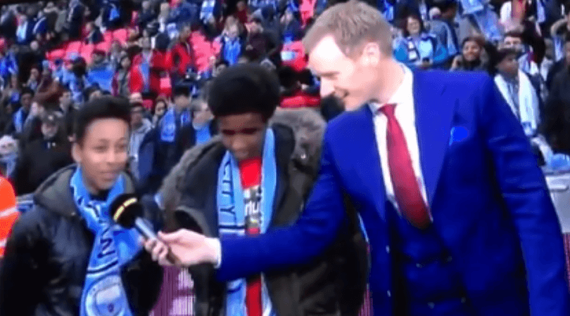 WATCH: Man City trolled as kids invited by Raheem Sterling to FA Cup admit to like Man Utd