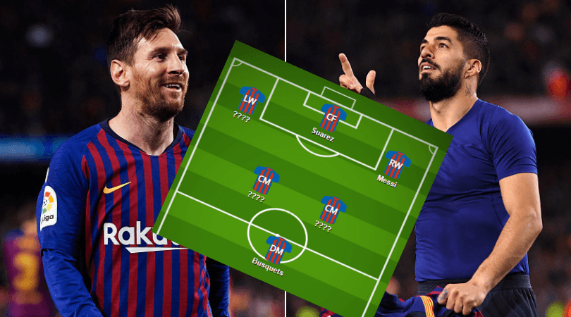Barcelona Team News Barcelona Predicted Lineup Vs Manchester United For Cl Clash The Sportsrush