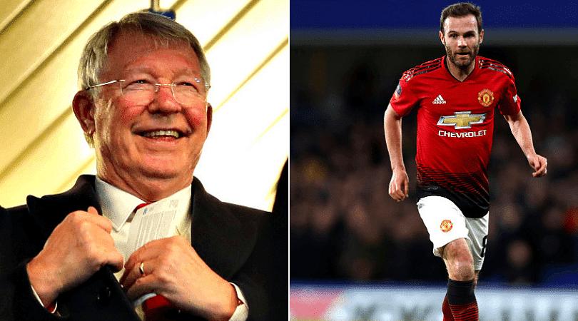 How Sir Alex Ferguson is helping Man Utd for Barcelona clash - Juan Mata reveals