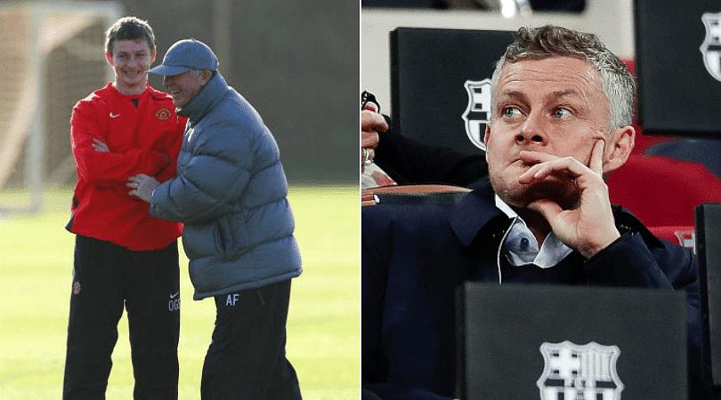 Solskjaer reveals how Sir Alex Ferguson's team talks are helping Man Utd for Barca clash