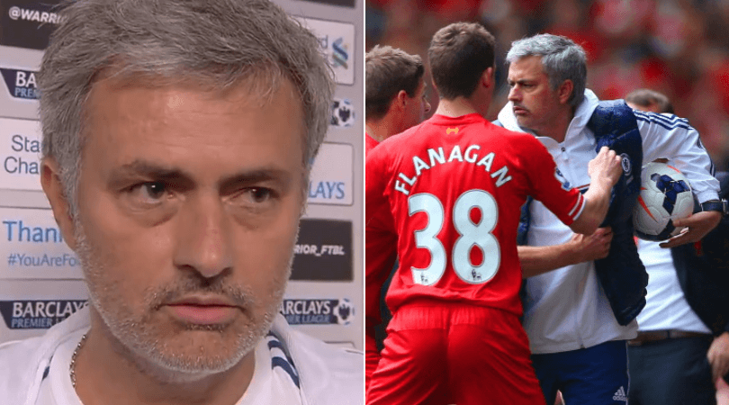 Jose Mourinho's interview after 'Gerrard slip' in 2014 is pure gold - Liverpool vs Chelsea