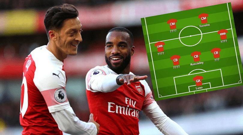 Arsenal predicted line up vs Watford