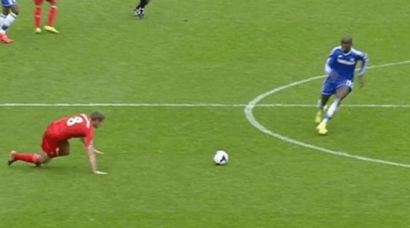 Chelsea Twitter account posts video of Gerrard's slip ahead of PL clash vs Liverpool